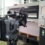 WDR Lokalzeit Köln zu Gast in unserer Druckerei