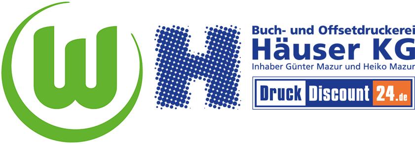 Offizieller Druckpartner des VfL Wolfsburg